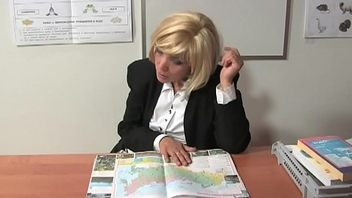Russian mature teacher 9 - Kayla (break)