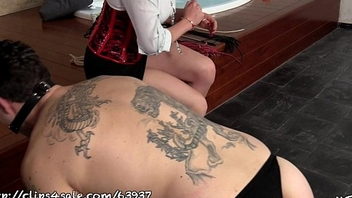 LADY SCARLET ENSLAVES ALL DAY: TRAMPLING