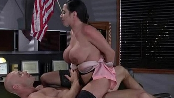 Busty chick is upsetting for a raise and fucks her boss and earn it 2