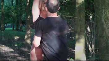 Slave suffers bondage pain rough fuck mouth use to the woods