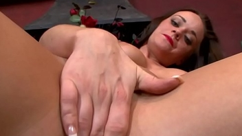 British slut masturbates crafty date