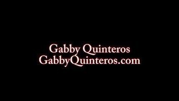 MexiMILF Gabby Quinteros Fucked overwrought Two Black Cocks!