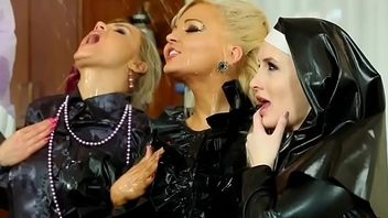 Latex nun pissed leave