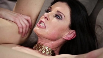Russian man trapped wide a crazy MILF'_s house - India Summer