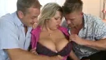 3497532 fat breasted mom sucking and fucking two boys