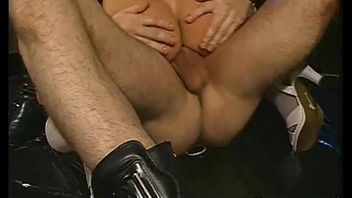 Kinky German Amateur Bukkake Piss Swallowing