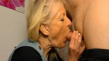 Skinny german Gilf is get-at-able for a good fuck