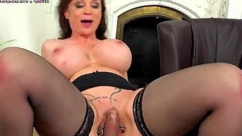 Beautiful mature up huge tits gets fucked