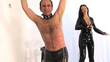 Willing To Please part3 - The Hunteress - FemmeFataleFilms - Deprecatory Whipping