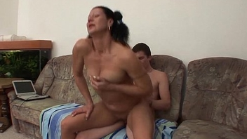 My Horny Stepmom Likes Receving Facials