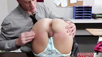 Cute Infuse with Girl Punished At School - InnocentHighHD.com